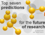 Top seven predictions for the future ofresearch