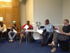 Ukaegbu, Hollingum and the cast