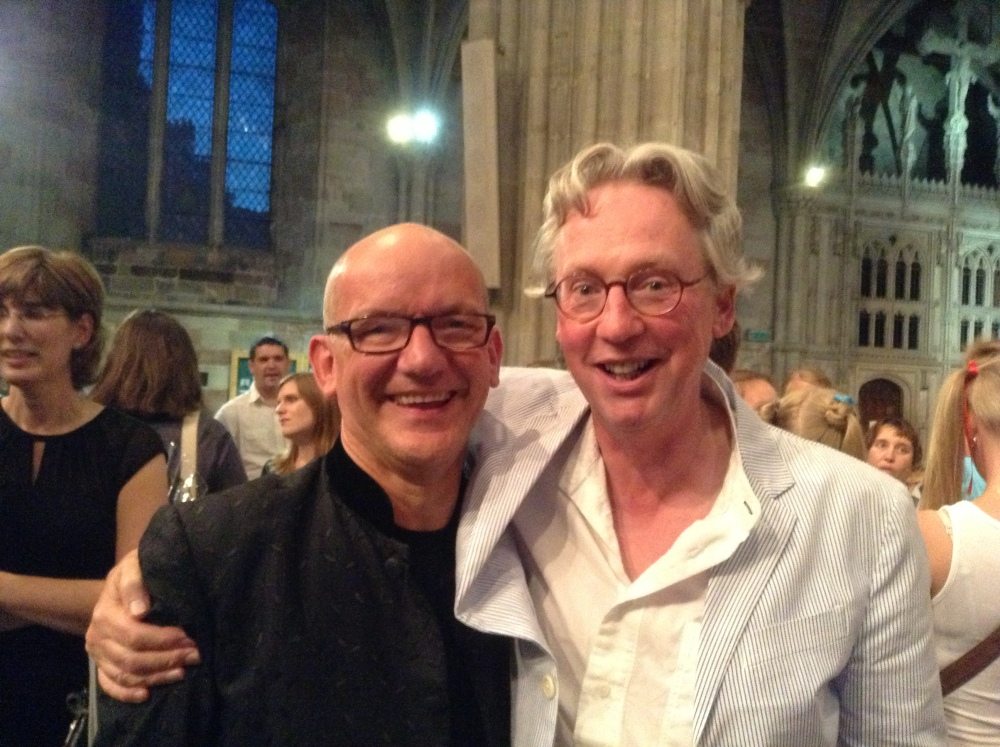 Dr Charles Bennett and 'Five Days That Changed World' at Worcester Cathedral (1/2)