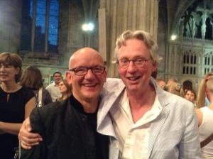 Bob Chilcott and Charles Bennett