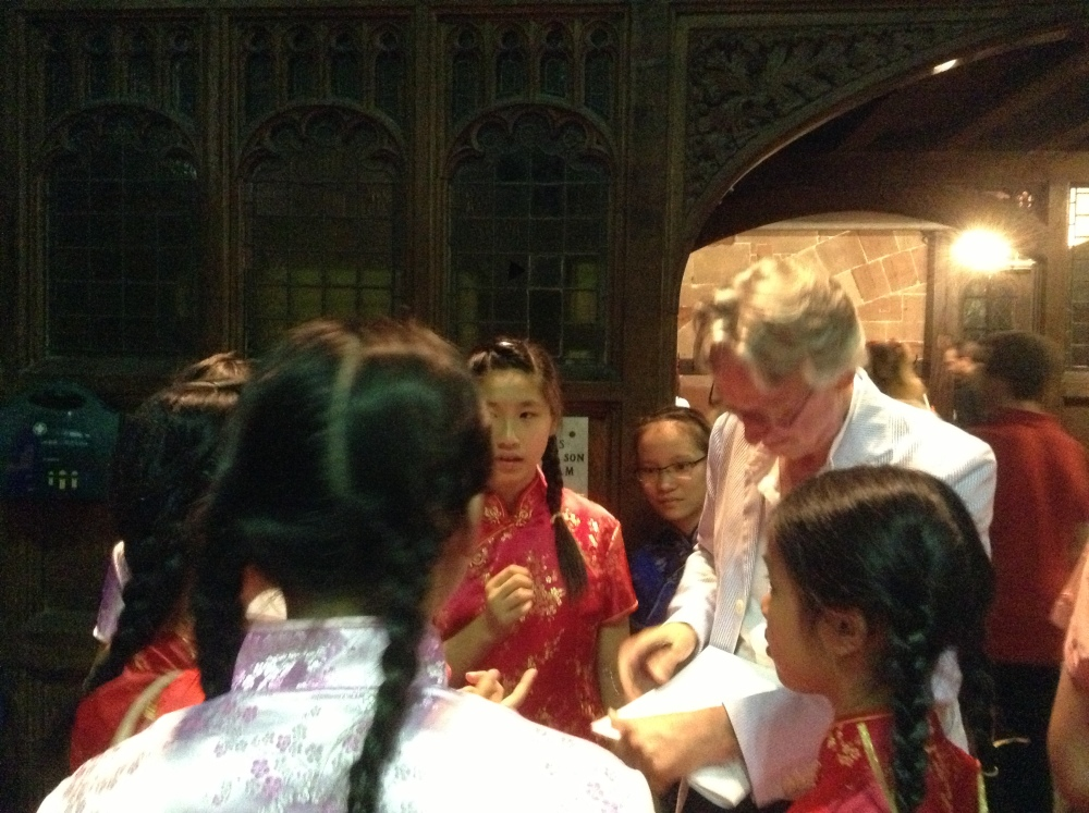 Dr Charles Bennett and 'Five Days That Changed World' at Worcester Cathedral (2/2)