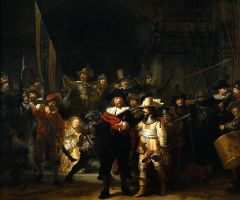 The Nightwatch by Rembrandt (Wikimedia Commons)