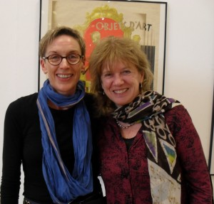 Rhian Gallagher and Professor Janet Wilson