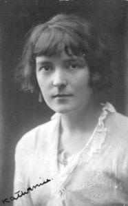 Katherine Mansfield  (Wikimedia Commons)