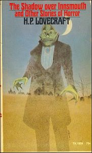 H. P. Lovecraft,  'The Shadow over Innsmouth' (Scholastic Books, 1971) Wikimedia Commons.