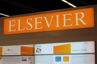 Elsevier stand
