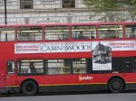 London bus: Cabin in the Woods (Wikimedia Commons)
