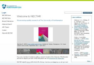 NECTAR home page