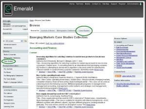 Emerald case studies
