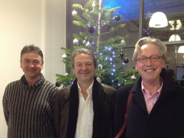 Professor Richard Canning, Professor Nick Groom and Associate Professor Charles Bennett.