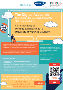 Digital academic poster