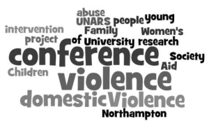Domestic violence conference wordle