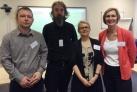 David Simmons, Rob Farmer, Sabine Coady Schaebitz and Sonya Andermahr