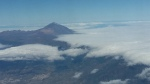 Tenerife from the plane