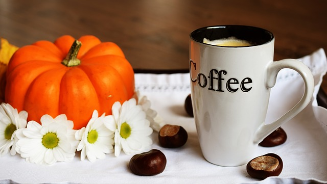 Autumn Pumpkin and Coffee